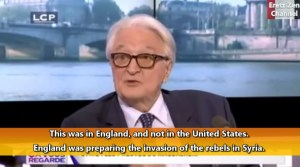 """""""Invasie Syrië stond al jaren op Britse agenda"""""""