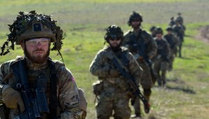 Uitbreiding militaire operaties in Oost-Europa