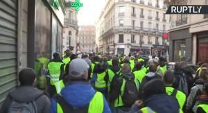 Zesde ronde van demonstraties gele hesjes