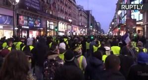Achtste ronde van demonstraties gele hesjes