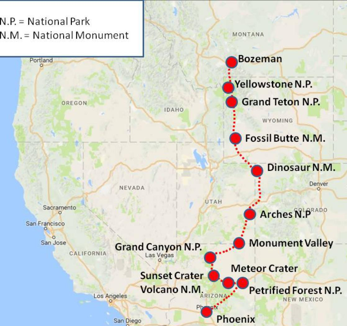 Today travel editor peter greenberg shares his grand guide to when and what to see of the park's mesmerizing sights. Usa Geoworld Travel