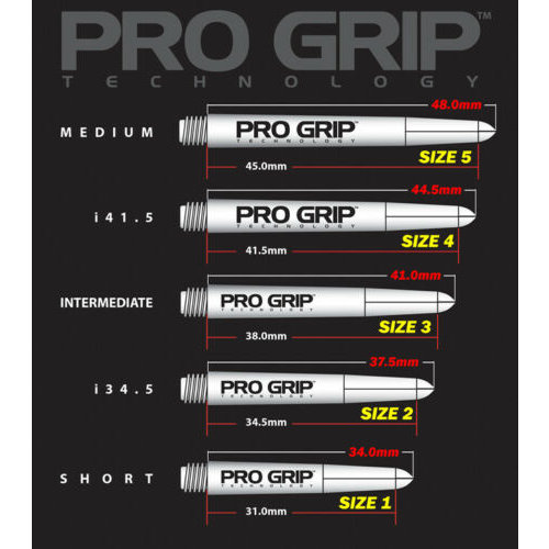 Target Pro Grip Shaft Black