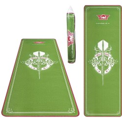 Bulls Carpet Mat Green 241x80 cm