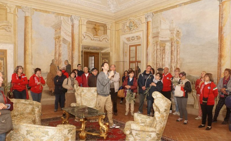 Caselle in visita a Frascati