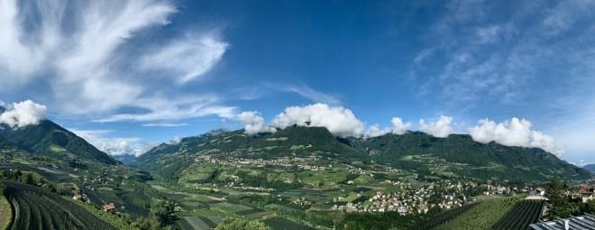 Panorama, Südtirol, Vinea, Meran,