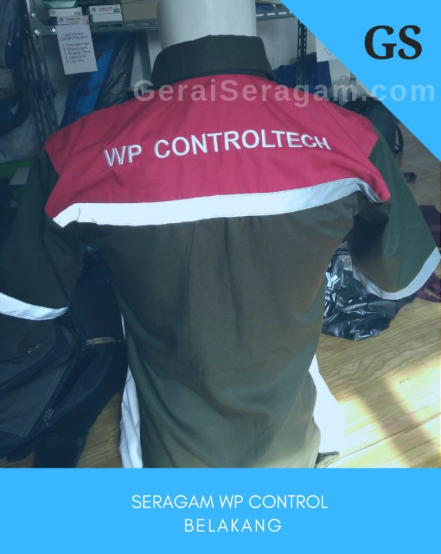 baju seragam wp control