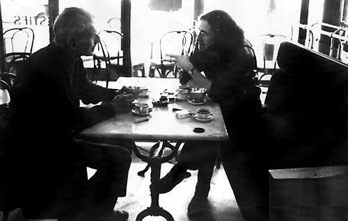Gerald Thomas e Samuel Beckett