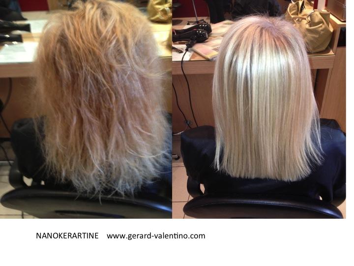 Keratine et cheveux fins