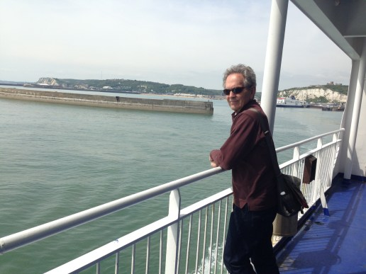 Leaving port of Dover with Rosie onboard