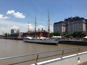 B.A. Tall ship