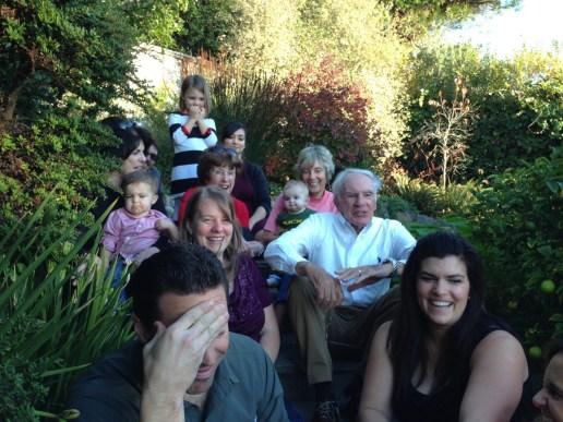 Annual family photo