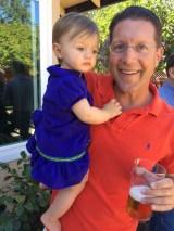 Little Aubrey and Daddy