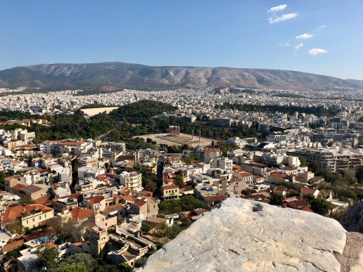 Acropolis Temple of Olympian Zeus