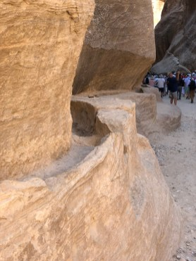 Petra water canal
