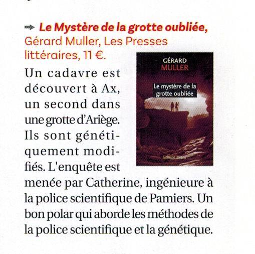 Article dans Pyrénées Magazine