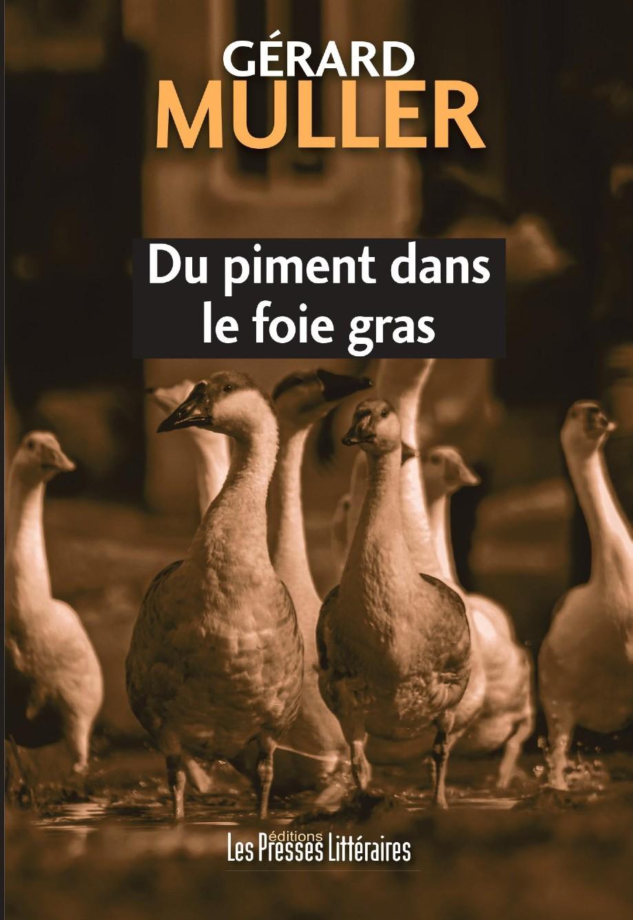 Un polar dans le monde du foie gras