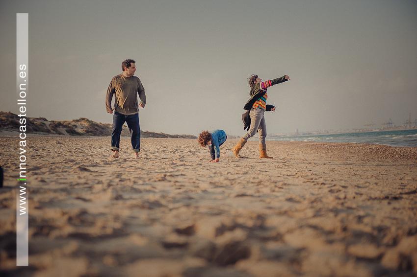 Fotografías de familia en Playa del Saler - Valencia (10)