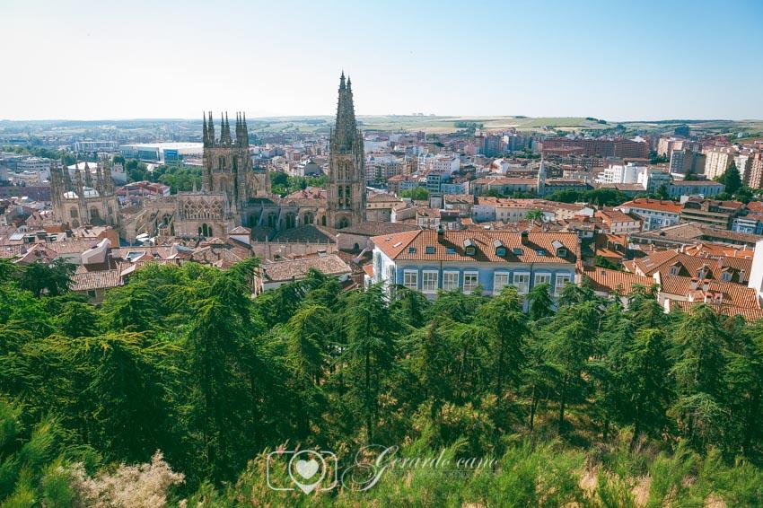 Vistas desde el castillo Burgos - fotografo de bodas Burgos (1)