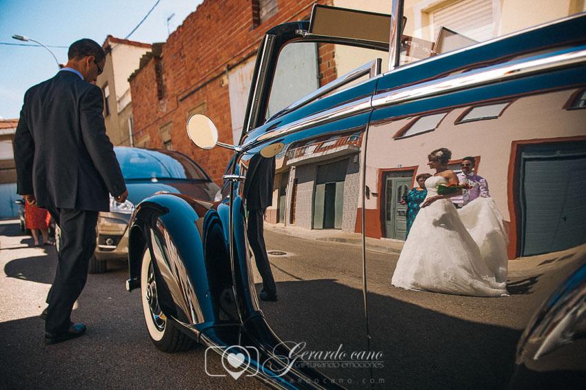 Fotos de boda León - Coches de alquiler en Cigarral de Cembranos
