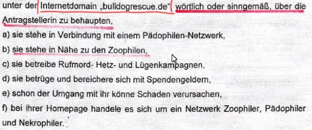 Screenshot doggennetz.de Beschluss doggennetz.de/attachments/article/1704/Aua1327SAT1Presseanfrage2EinstwVerf%C3%BCgg.pdf