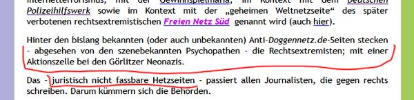 Screenshot AUA1457 Doggennetz.de