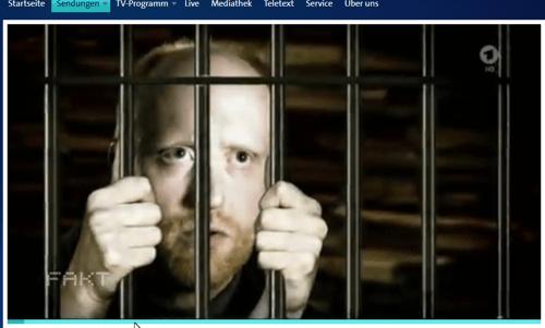 Screenshot Video ARD /