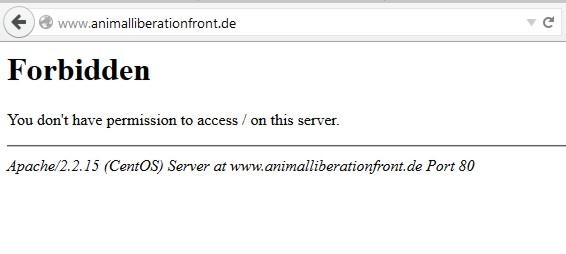Die die deutsche Webseite von ALF ist nicht mehr erreichbar