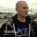 Radikaler Tierrechtler Andre / Screenshot Sat.1 Regional
