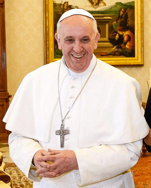 Papst Franziskus Foto: Agência Brasil / Wikipedia