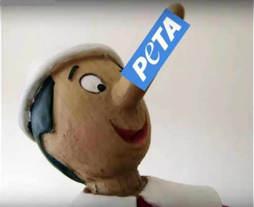 Bei diesen Lügen wächst PeTA eine lange Nase