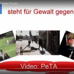 PeTA ´s Doppelmoral!!! – Flüchtlinge sollen erschlagen werden!
