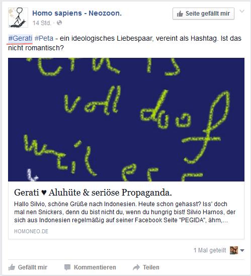 Sreenshot Facebook