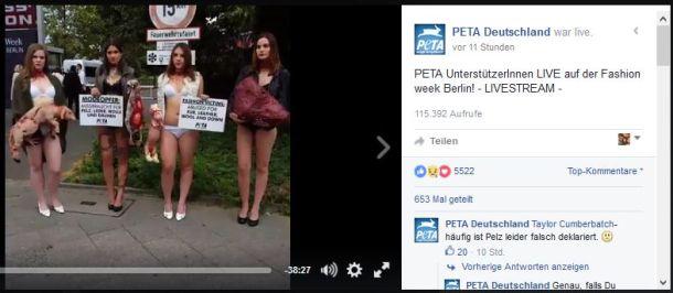 PeTA ´s neue Berliner Strassenschwalben