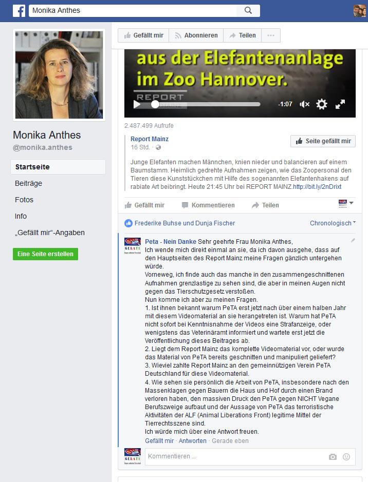 PeTA vs. Zoo Hannover