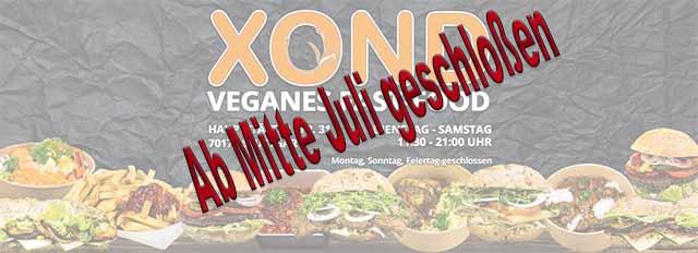 Das vegane Sterben geht weiter - XOND macht dicht  -  Foto:  Facebook XOND