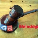 Urteil gegen PeTA und Animal Peace