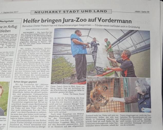 Simon Fischer geht es nicht um die Tiere / Screenshot Facebook