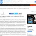 PeTA verklagt Matze Koch
