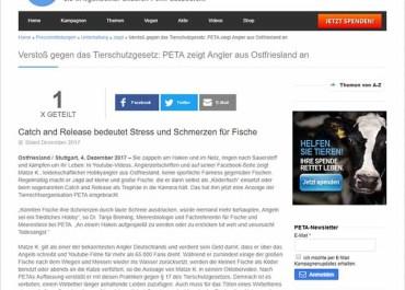 PeTA verklagt Matze Koch 7 Screenshot peta.de