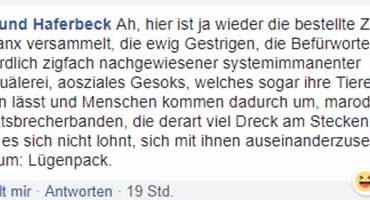 Edmund Haferbeck explodiert auf Facebook