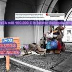 "PeTA fordert ""Rettet unsere Haut"""