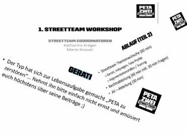 GERATI will PeTA zerstören / Zitate: Petazwei.de
