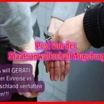 Post von der Staatsanwaltschaft Augsburg