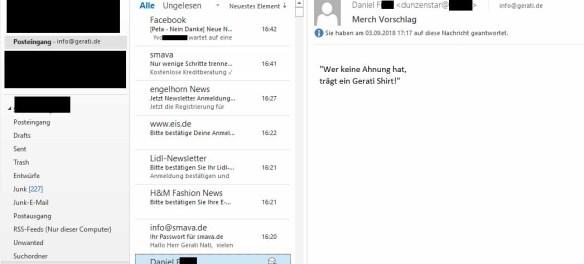 E-Mail-Beweis (Namen habe ich erst einmal geschwärzt!)