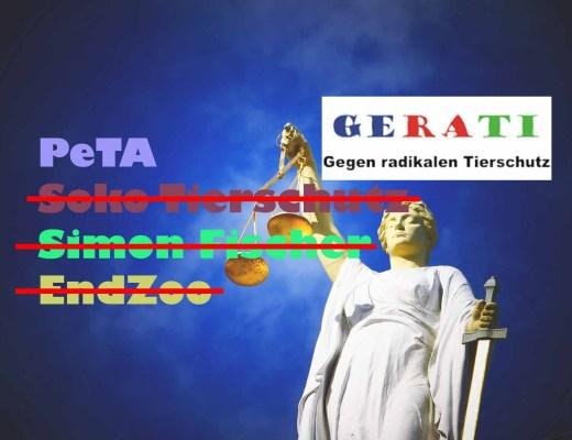 Die Strafanzeigen von PeTA gegen GERATI (1)