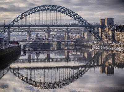 Newcastle Bridges in HDR