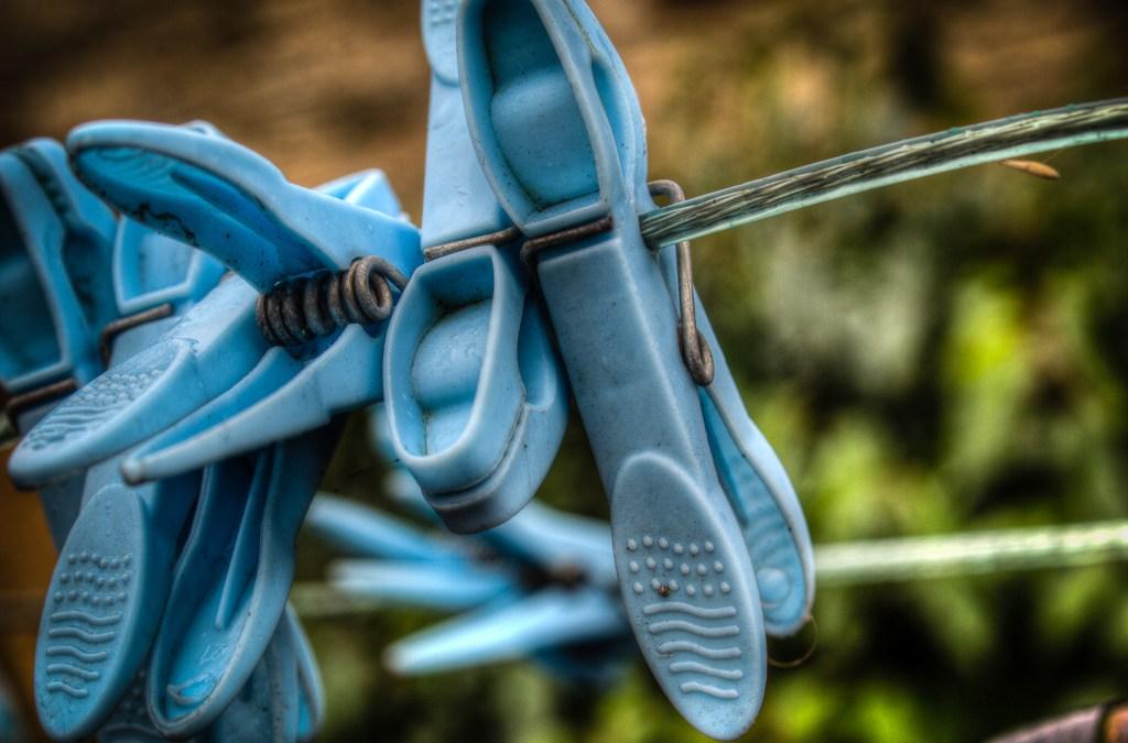 Blue Pegs