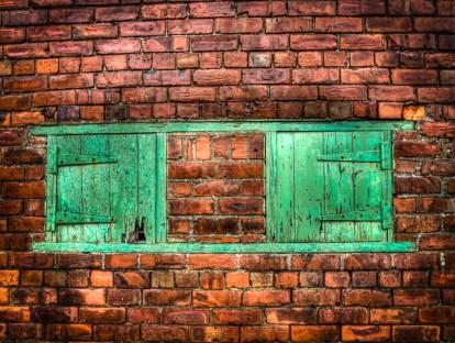 Green doors #2