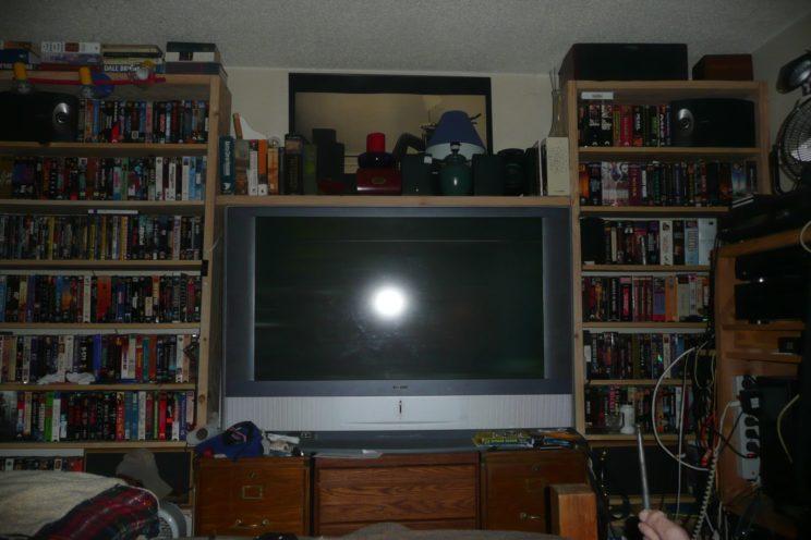 Michael wall of shelves