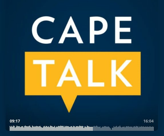 For my South African peeps: tomorrow, July 13th, Melanie Rice of Cape Talk Radio interviews me LIVE between 1 pm and 3 pm SA time
